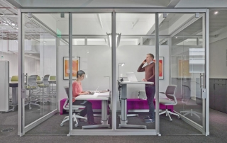 Blue Line Design office space planning and design