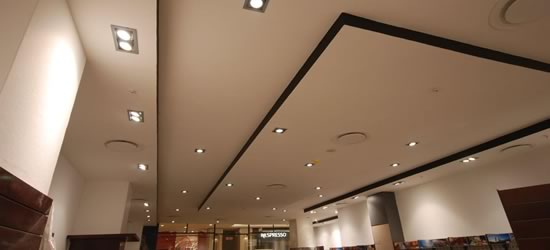 Ceilings for office refurbishment
