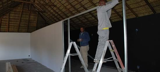 Johannesburg Office Partitioning Solutions Blue Line Design